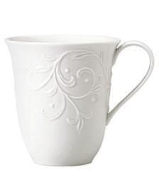 Dinnerware, Opal Innocence Carved Mug
