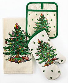Kitchen Linens, Christmas Tree Collection
