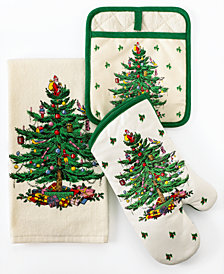 Spode Kitchen Linens, Christmas Tree Collection
