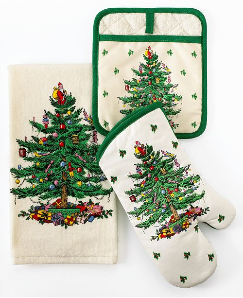 Spode Kitchen Linens, Christmas Tree Collection & Reviews ...