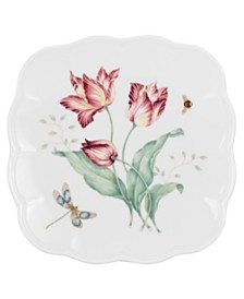 Lenox Dinnerware, Butterfly Meadow Square Accent Plate