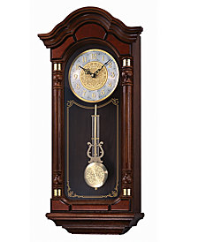 Seiko Wooden Wall Clock QXH004BLH
