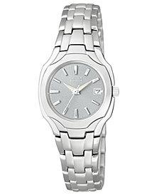 Citizen Women's Eco-Drive Stainless Steel Bracelet Watch 25mm EW1250-54A