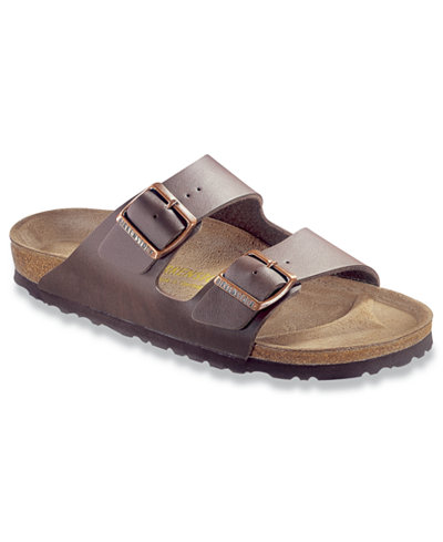 birkenstock men 39 s arizona 2 band birko flor sandals all men 39 s shoes men macy 39 s. Black Bedroom Furniture Sets. Home Design Ideas