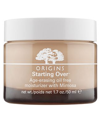 Origins Starting Over Age-Erasing Oil-Free Moisturizer with Mimosa, 1.7 oz