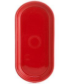 Fiesta Scarlet Bread Tray
