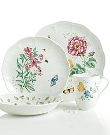 Lenox Dinnerware, Butterfly Meadow 4 Piece Place Setting