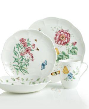 Lenox Dinnerware, Butterfly Meadow 4 Piece Place Setting