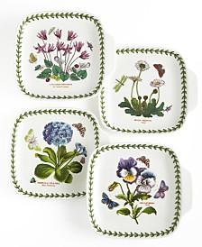 Portmeirion Dinnerware, Set of 4 Botanic Garden Canape Plates