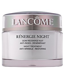 Lancôme Rénergie Moisturizer Night Cream, 2.5 Oz.