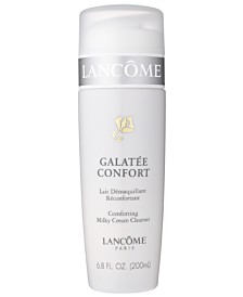 Lancôme GALATÉE CONFORT Comforting Milky Creme Cleanser Collection