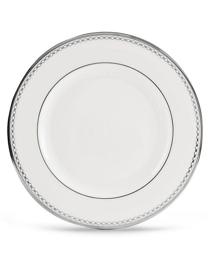 """Lenox - """"Pearl Platinum"""" Salad Plate"""