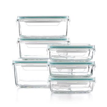Martha Stewart 12-Piece Glass Food Storage Container Set