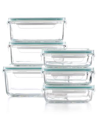 Superb Martha Stewart Collection 12 Piece Glass Food Storage Container Set,  Created For Macyu0027s