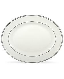 "Lenox Federal Platinum 16"" Oval Platter"