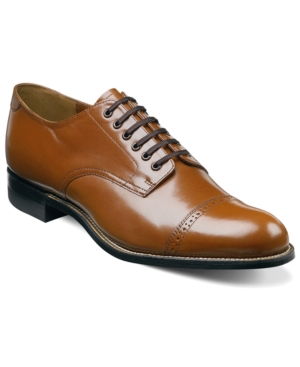 Steampunk Boots and Shoes for Men Stacy Adams Madison Cap Toe Oxfords Mens Shoes $114.98 AT vintagedancer.com