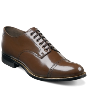 Edwardian Men's Shoes- New shoes, Old Style Stacy Adams Mens Madison Cap Toe Oxford Mens Shoes $114.98 AT vintagedancer.com