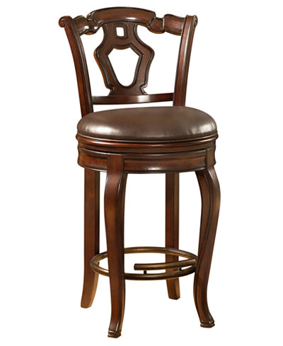Toscano Chair, Bar Stool - Furniture - Macy\'s