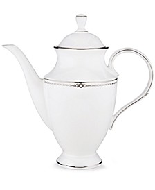Pearl Platinum Coffee Pot