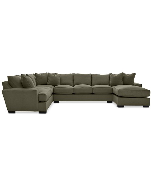 Furniture Ainsley Fabric Sectional Collection Created For