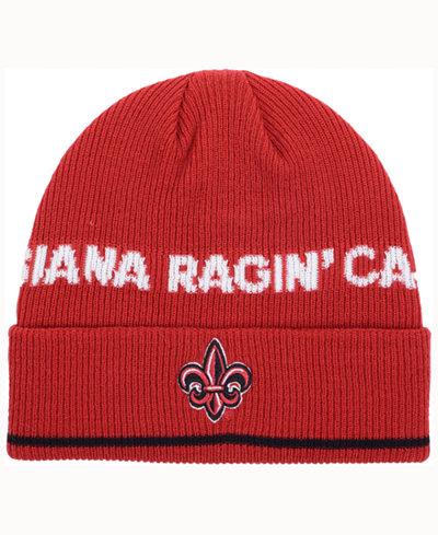 adidas Louisiana Ragin' Cajuns Coach Cuffed Knit