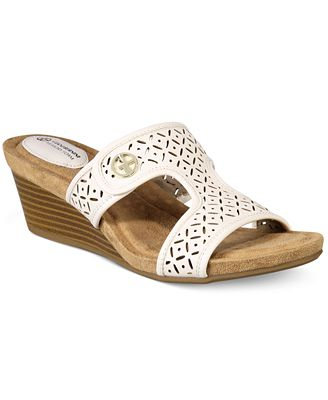 Giani Bernini Brezaa Slide Sandals, Created for Macy's