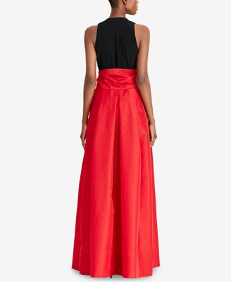 Lauren Ralph Lauren Taffeta Skirt Ball Gown Dresses Women Macys