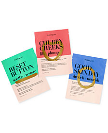 Peach & Lily 3-Pc. Sheet Mask Set