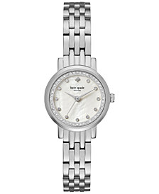 kate spade new york Women's Mini Monterey Stainless Steel Bracelet Watch 24mm KSW1241