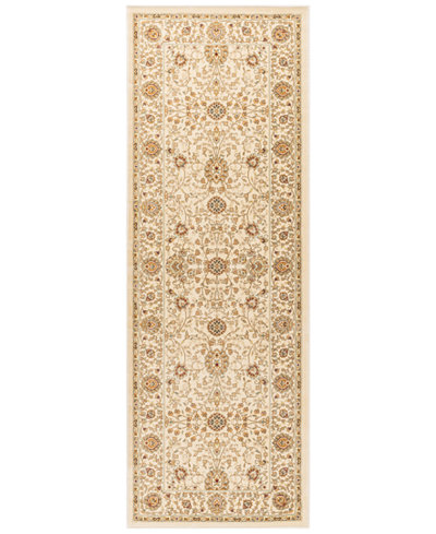 CLOSEOUT! KM Home Oxford Kashan Ivory 2'7