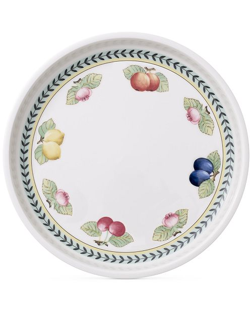 Villeroy & Boch French Garden Round Baking Lid & Serving Plate