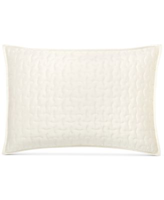 CLOSEOUT! Connection Indigo Quilted Standard Sham, Created for Macy's