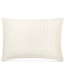 Hotel Collection Connection Indigo Quilted Standard Sham, Created for Macy's