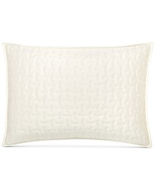 CLOSEOUT! Hotel Collection Connection Indigo Quilted Standard Sham, Created for Macy's