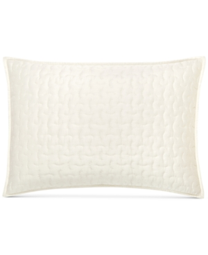 Closeout! Hotel Collection Connection Indigo Quilted Standard Sham, Created for Macy's Bedding