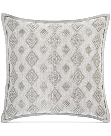 "Hotel Collection Connections 18"" Square Decorative Pillow, Created for Macy's"
