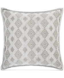 """Hotel Collection Connections 18"""" Square Decorative Pillow, Created for Macy's"""