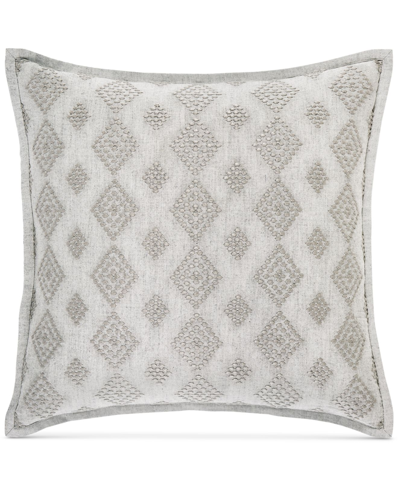 """Hotel Collection Connections 18"""" Square Decorative Pillow, Created ..."""