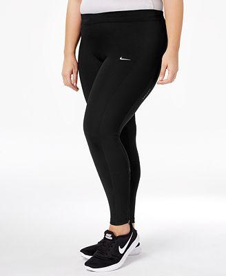 Nike Plus Size Power Compression Leggings - Plus Sizes - Macy's