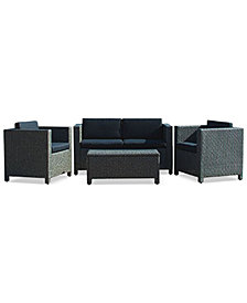 Listyn Outdoor Sofa Set, Quick Ship