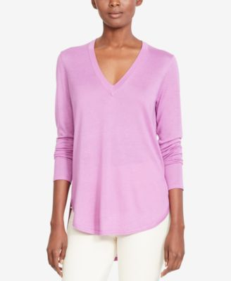 Image of Lauren Ralph Lauren V-Neck Sweater