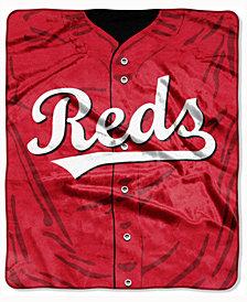 Northwest Company Cincinnati Reds 50x60in Plush Throw Jersey