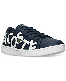 Lacoste Little Boys' Carnaby EVO Logo Casual Sneakers from Finish Line
