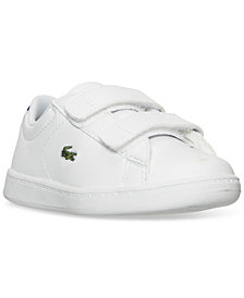 Lacoste Toddler Boys' Carnaby EVO Casual Sneakers from Finish Line
