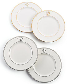 Lenox Federal Monogram Accent Plate