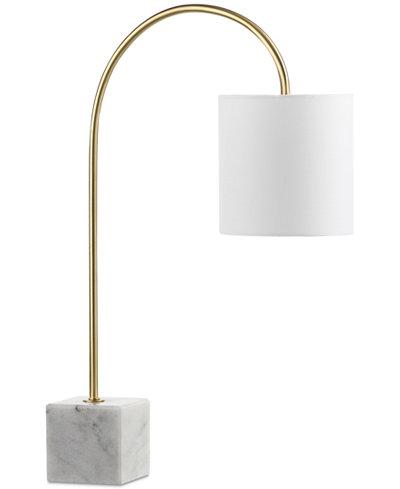 Decorator's Lighting Gold & Marble Desk Lamp