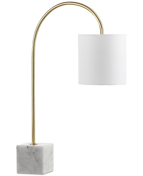 Decorator's Lighting CLOSEOUT! Gold & Marble Desk Lamp