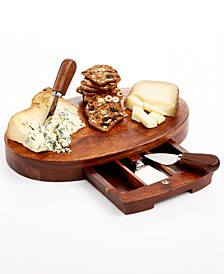 Oval Cheeseboard and Knife Set, Created for Macy's