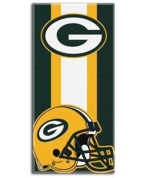 Northwest Company Green Bay Packers Nfl Zone Read Beach Towel