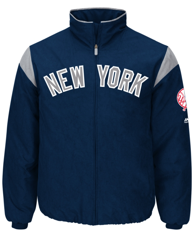 Majestic Men's New York Yankees On Field Thermal Jacket | Coat, Jacket and Clothing
